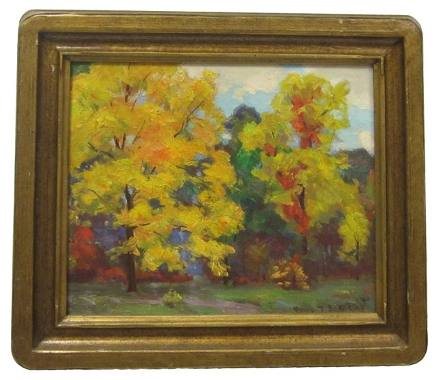 Fall Trees by Paul Sargent