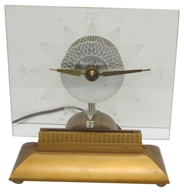 Art Deco  Starlight Clock