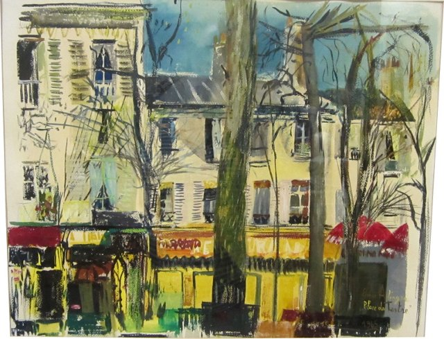 French Street Scene, 1965