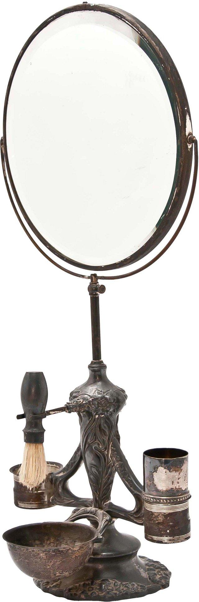 Art Nouveau Shaving Stand