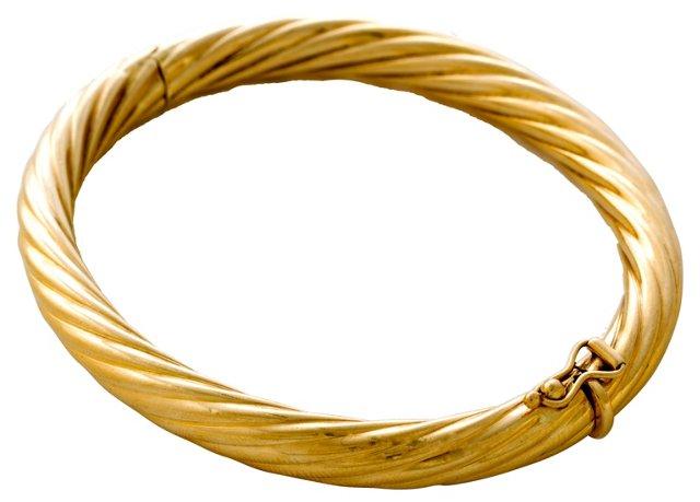 Tiffany Gold Bangle Bracelet