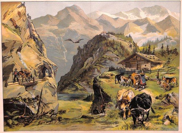 Alpine Scene, Highlands, 1885
