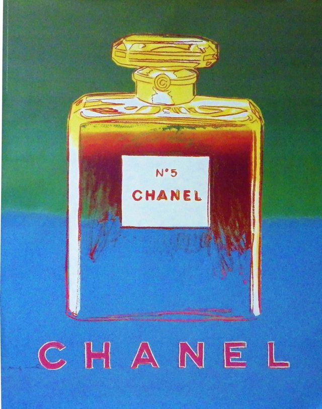 Chanel No. 5 Warhol Poster, 1997