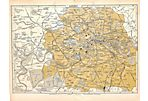 Map of London C. 1890