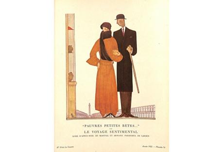 Le Voyage Sentimental Fashion Lithograph