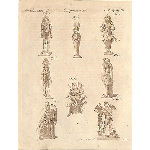Egyptian Deities, Osiris, 1810