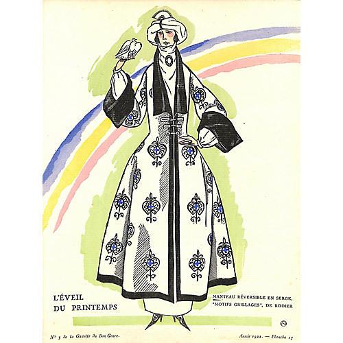 L'Eveil du Printemps, 1922