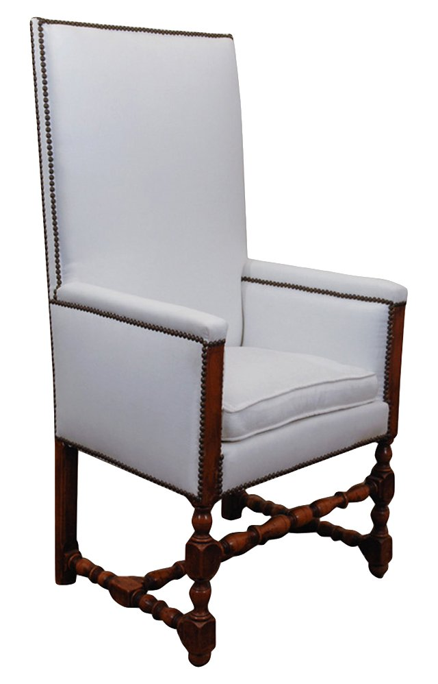 Louis XIII-Style Armchair