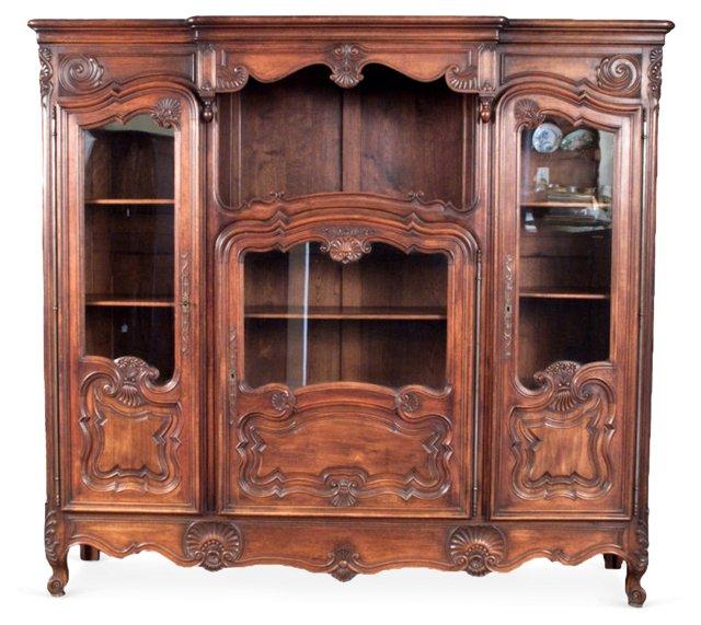 Louis  XV-Style Bookcase