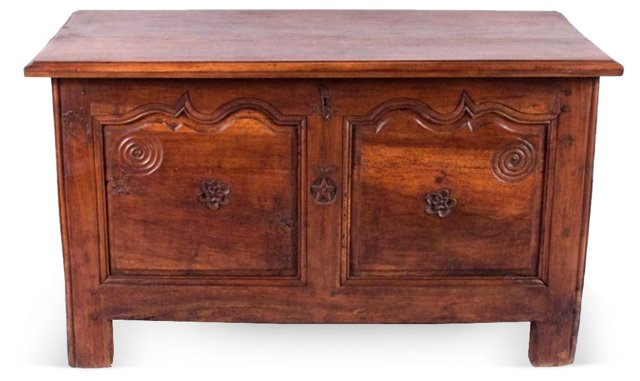 19th-C. French   Louis XIV-Style Trunk