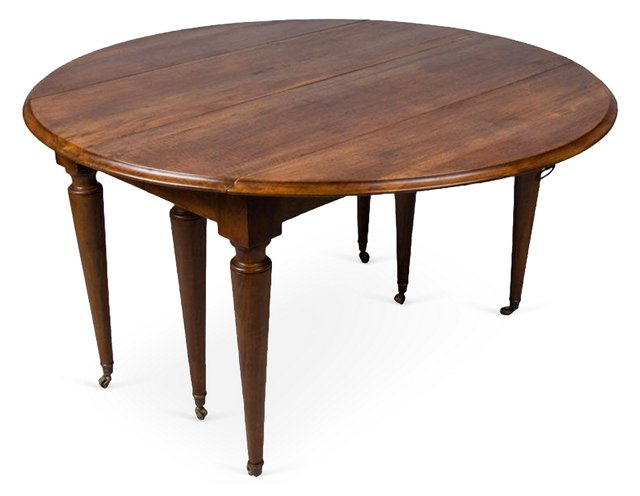 French Louis XVI-Style  Dining Table