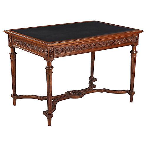 French Louis XVI-Style Desk, 1900s