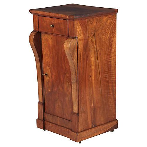 Restoration Period Walnut Cabinet, 1820s