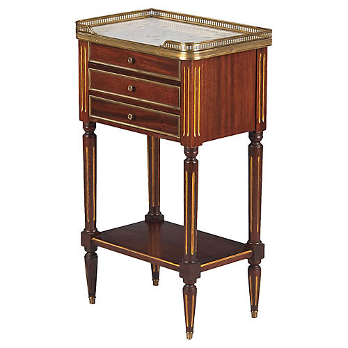 French Louis XVI-Style Nightstand