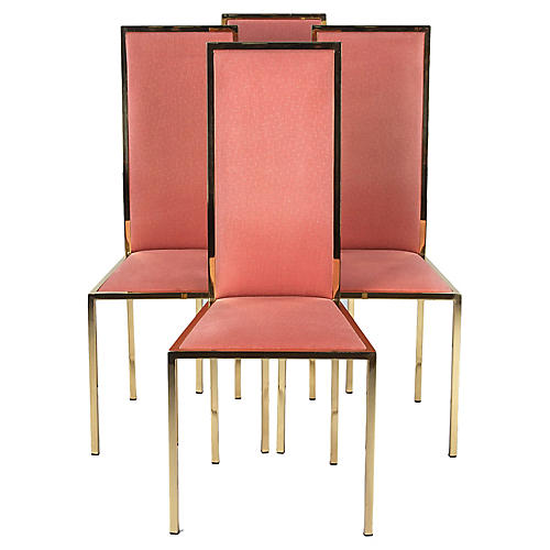 Set of Four Italian Mid-Century Chairs