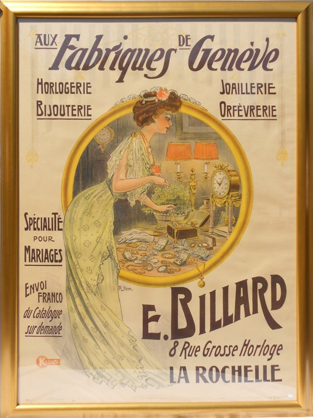 Fabriques Geneve Poster