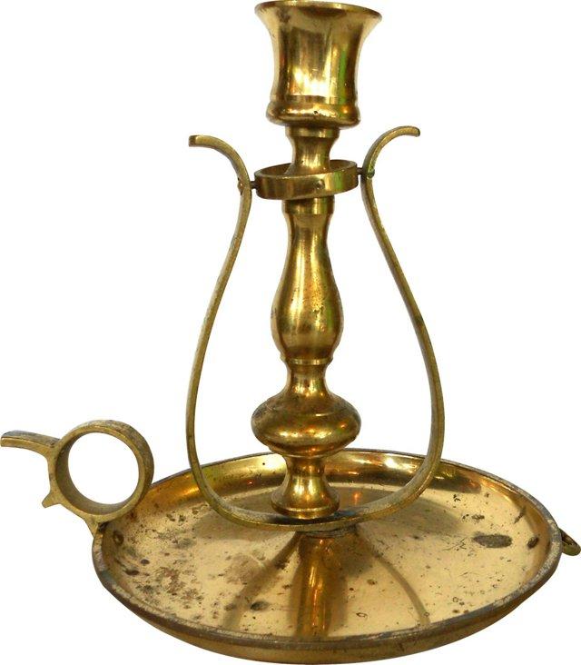 Brass Chamber Stick