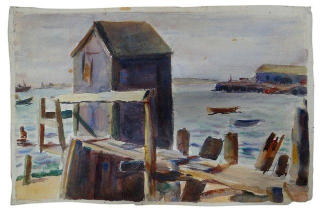 Marine Docks by Joseph L. Deitch