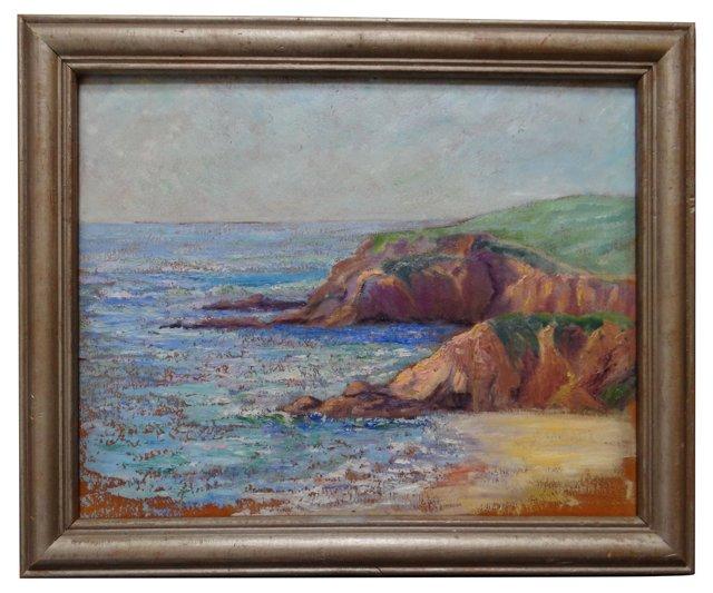 Laguna Cliffs by Betty Kissel Davis