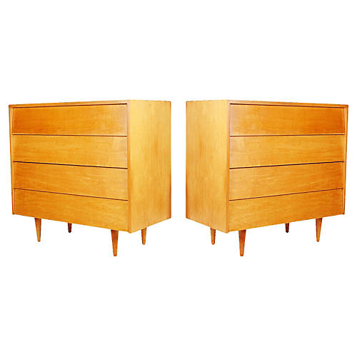 Florence Knoll Dressers, Pair