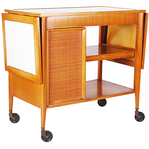 Midcentury Bar Cart