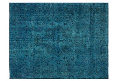 Turkish Overdyed Carpet, 10' x 12'8