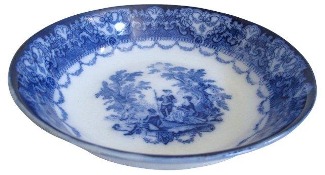 Doulton Flow Blue Serving Bowl