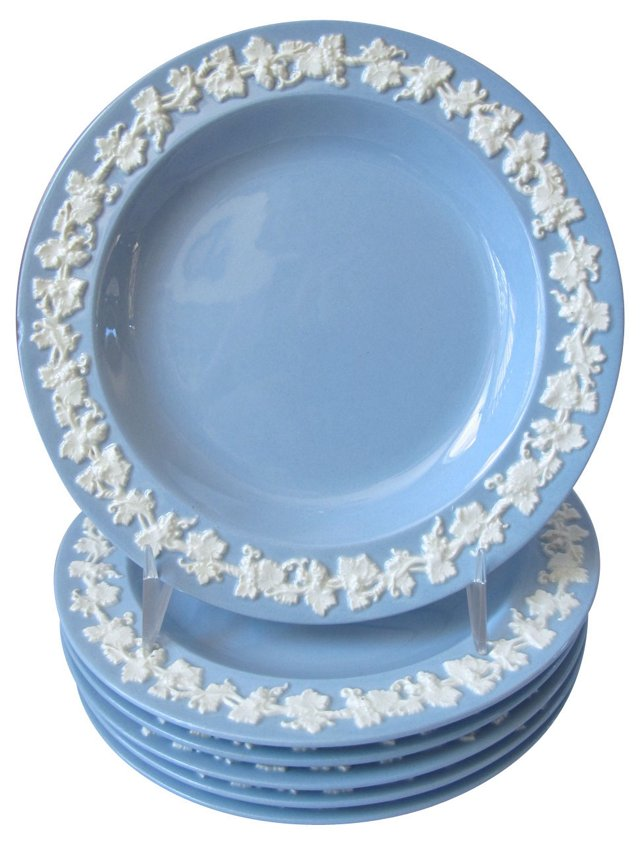 Wedgwood   Queensware Plates, S/4