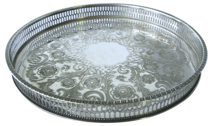 Viner's  Silverplate  Gallery Tray