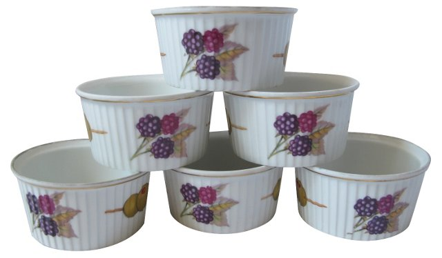 Royal Worcester Ramekins, S/6