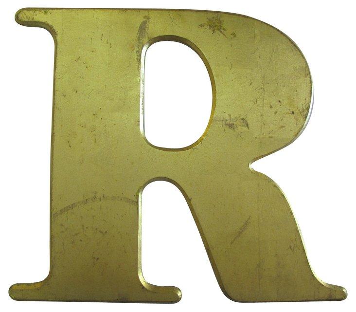 English Pub Sign   Letter      R