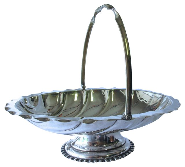 Silverplate    Serving Basket