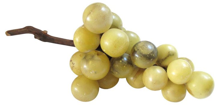 Yellow Alabaster Grape Cluster