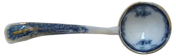 Antique Flow Blue     Ladle