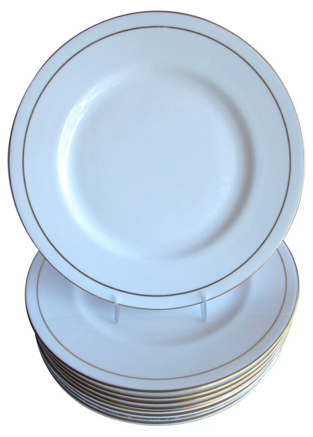 Royal Worcester Dinner Plates, S/10