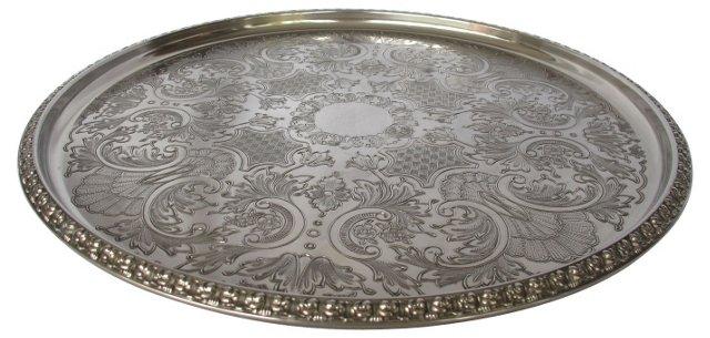 English Silverplate Gallery      Tray
