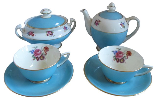 Royal Doulton Tea Set, 6 Pcs