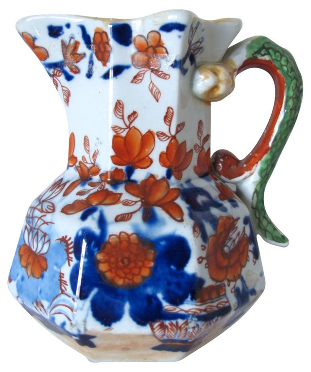 Antique Mason's Ironstone   Jug