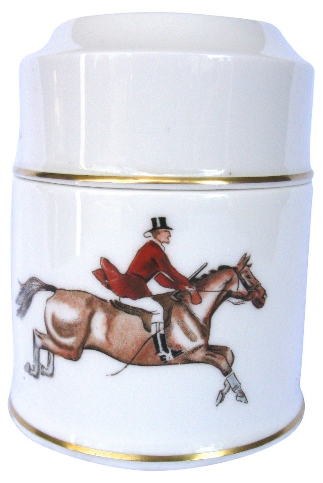 Royal Worcester Hunting Jar