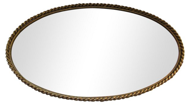Gilded Rope Vanity Tray