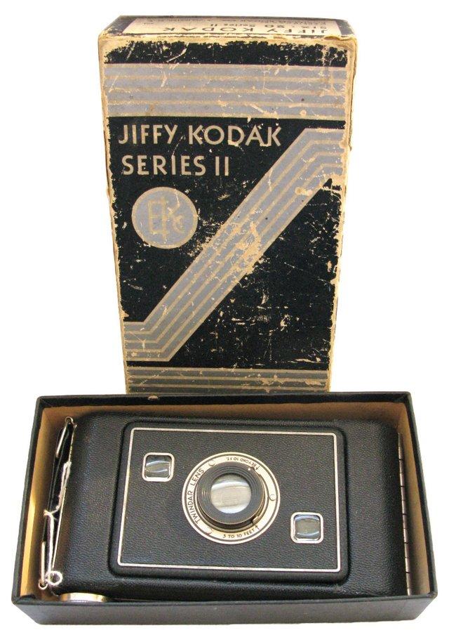 Jiffy Kodak Series II Camera