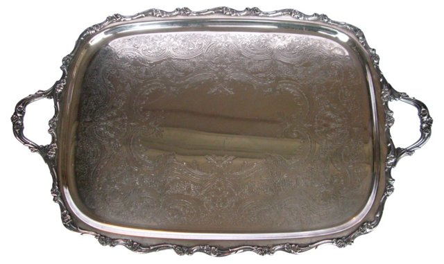 Webster & Wilcox Silverplate Tray
