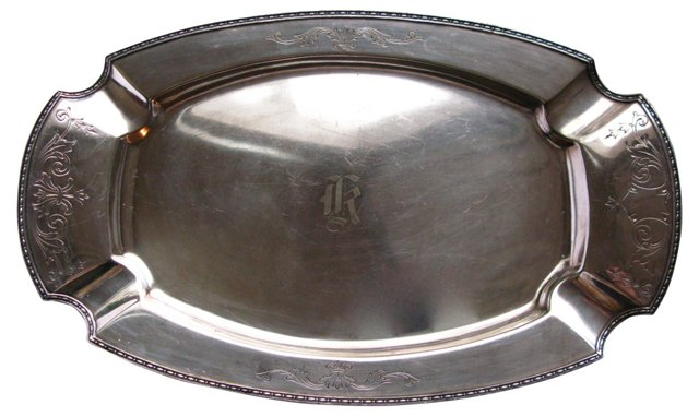 Silverplate         Tray