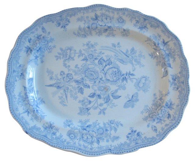 Antique Asiatic Pheasant  Platter