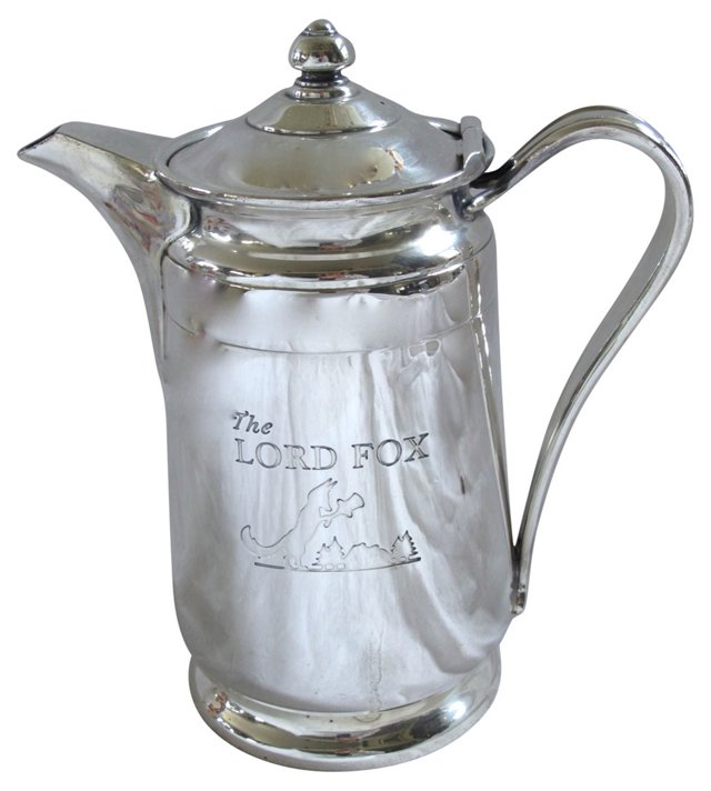 Silverplate Hotel Ware Coffee Pot