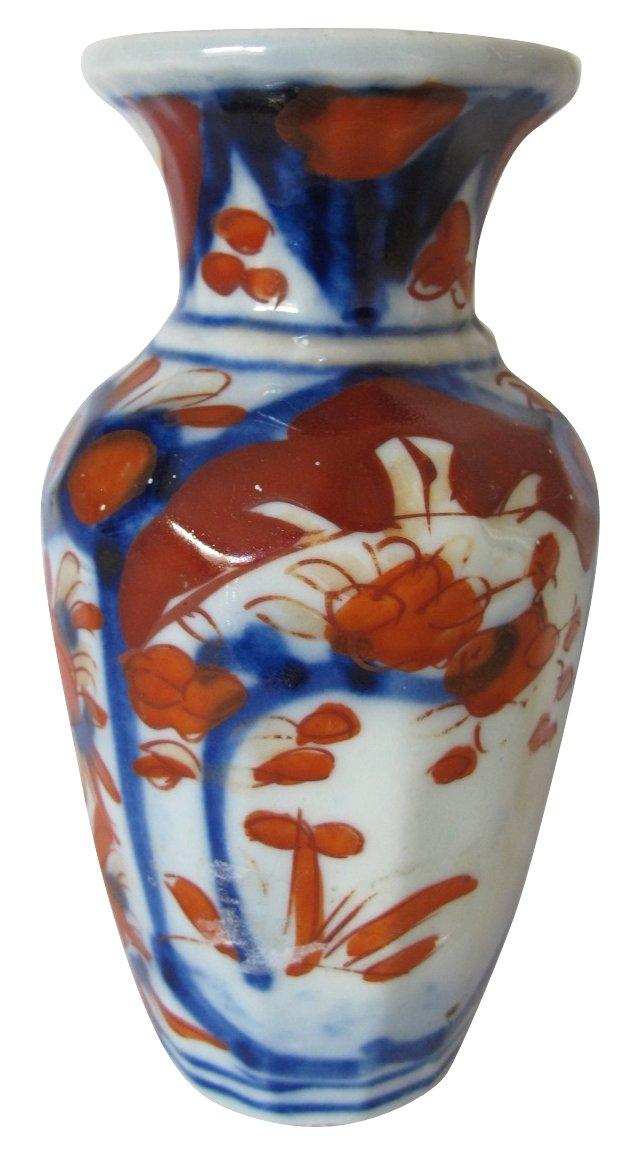 Antique Japanese Porcelain Vase