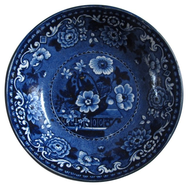Early Staffordshire Tea Bowl, C. 1820
