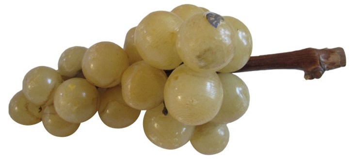 1960s  Italian Alabaster  Grapes