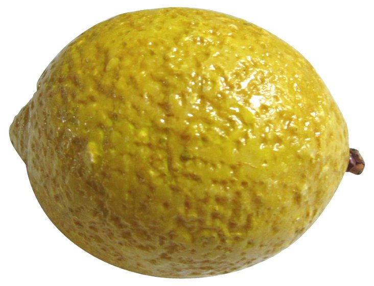 Hand-Painted    Alabaster     Lemon