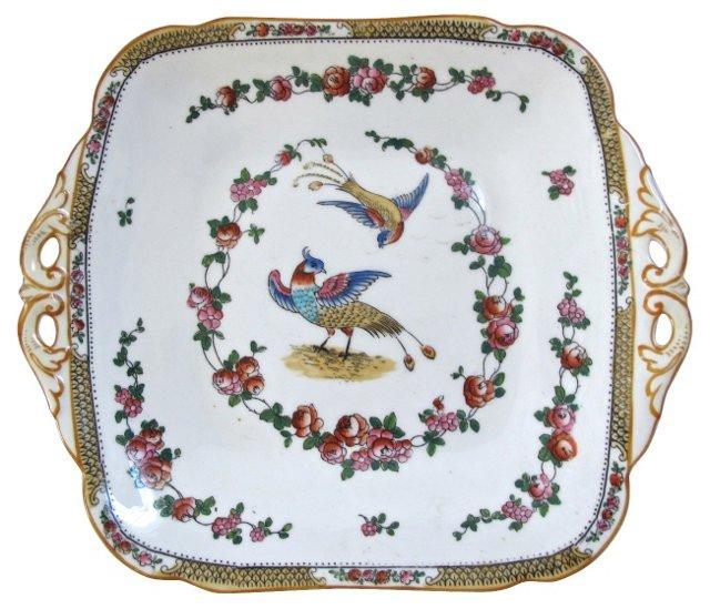 George Jones Porcelain Serving Plate